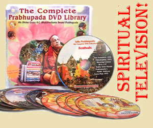 Prabhupada DVD set