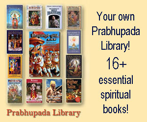 Get your Prabhupada Library Now!