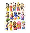 Childrens Stuffed Toys: Radha Krishna, Gaura-Nitai Jagannatha Sita Rama - set 15
