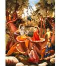 Lord Caitanya Sees Krishna's Vrindavan Pastimes