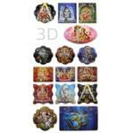 3D Spiritual Stickers -- 15 Pack