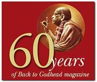 60 Years of Back to Godhead Magazine eBook DVD (PDF format)