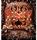 Sri Jagannatha, Baladeva and Lady Subhadra - Devasadana Mandir - Detroit, Michigan