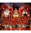 Sri Sri Jagannatha, Baladava and Lady Subhadra -- New Nilacala -- Philadelphia, PA