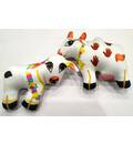 Cow and Calf Dolls -- Childrens Stuffed Toy