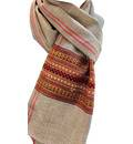 Neck Scarf / Chadar with Colorful Border