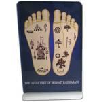 Lotus Feet of Radharani -- Altar / Table Stand