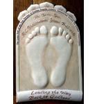 Srila Prabhupada's Lotus Feet Raised Casting