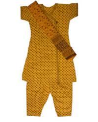 Punjabi Suit, 3-piece (Top, Pants, Chadar)