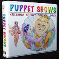 Childrens Krishna Puppet Show and Cartoon DVD Set (4 DVDs)
