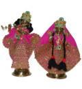 Radha Krishna Dress Floral Gems (Type 1)