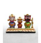 Jagannatha, Baladeva and Subudra Deities, Small Size