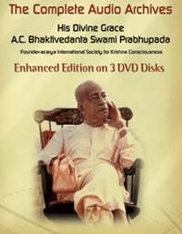 Srila Prabhupada MP3 Audio Library -- Now on 3 DVDs!