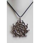 Sudarshan Chakra Necklace with Black Thread