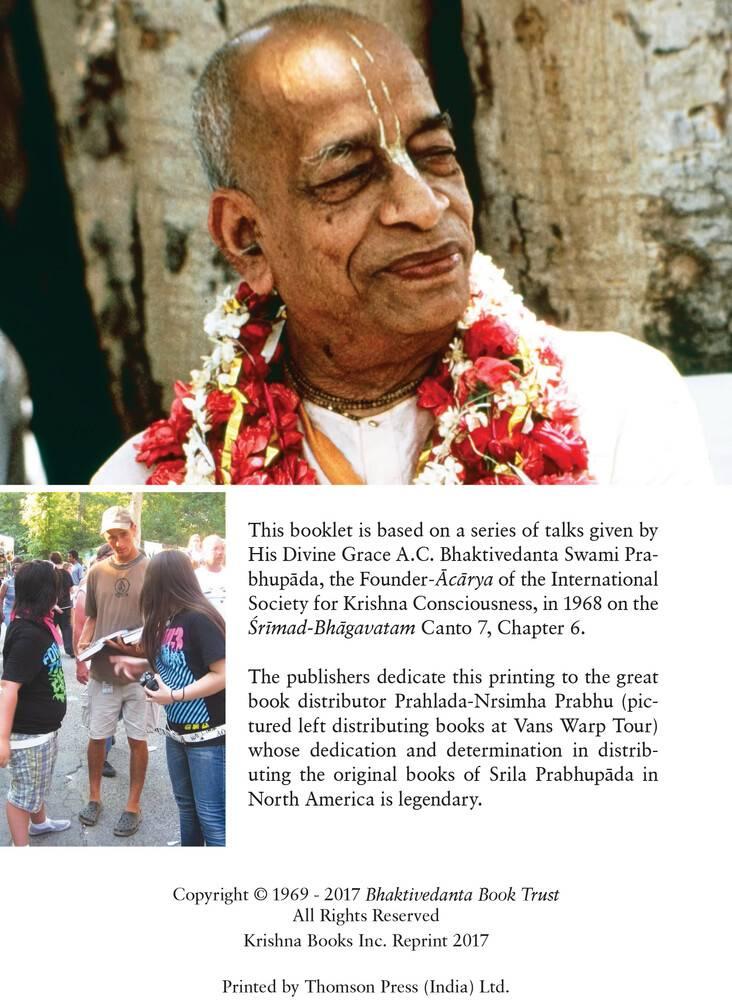 Transcendental Teachings of Prahlada Maharaja