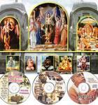 Traveling Hare Krishna Temple & Morning Program CDs