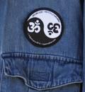 Om Yin Yang Patch