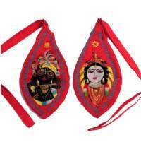 Radha & Krishna Japa Bead Bag