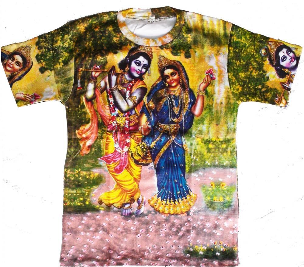 8b5642a5 T-Shirt: Radha-Krishna -- All-over print. Loading zoom