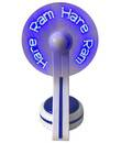 Hare Krishna LED Fan