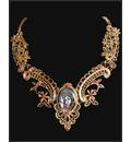 Krishna Necklace -- Gold Color
