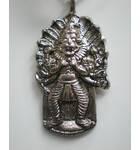 Lord Nrsimhadeva From Mayapur Pendant With Black Thread