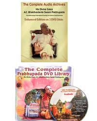 Prabhupada DVD and MP3 Library