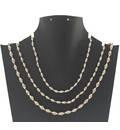 Silver Tulsi Necklace - Medium Beads