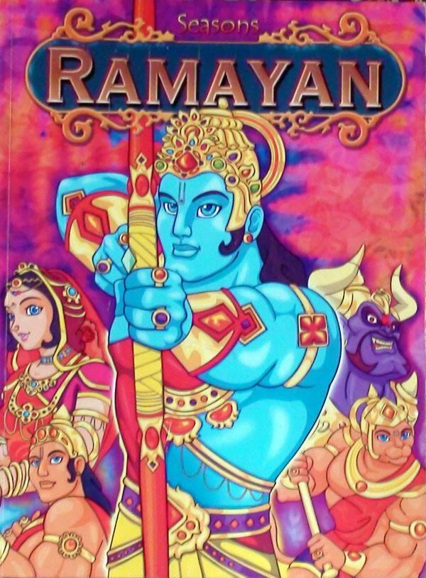 Ramayana cartoon pics