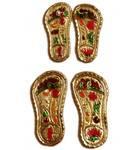 Pair of Golden Shoes (for Krishna or Gaura Nitai)