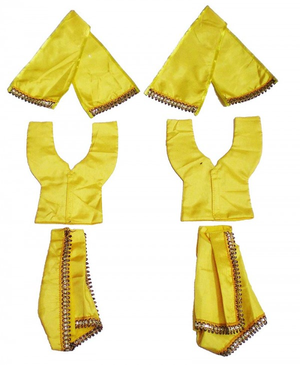 Gaura Nitai Night Dress Yellow