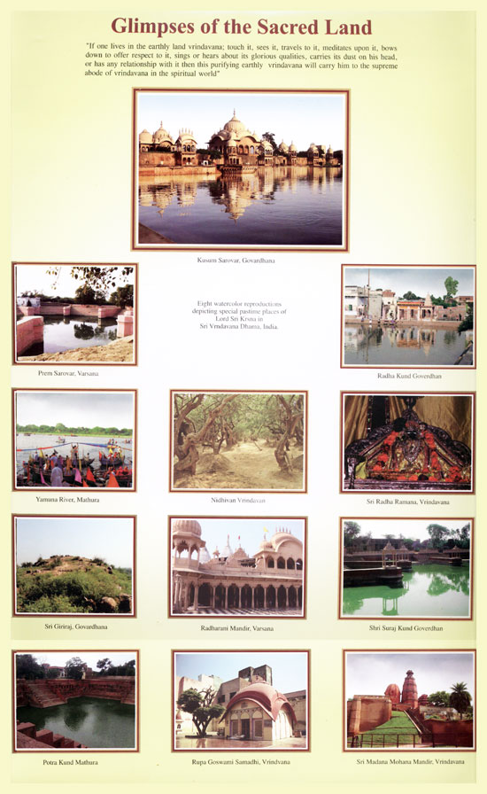 Glimpses of the Sacred Land of Vrindavan