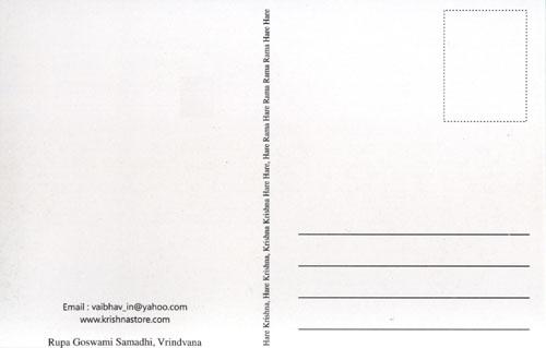 16 All-Attractive Braj-Mandal (Vrindavan) Post-Cards