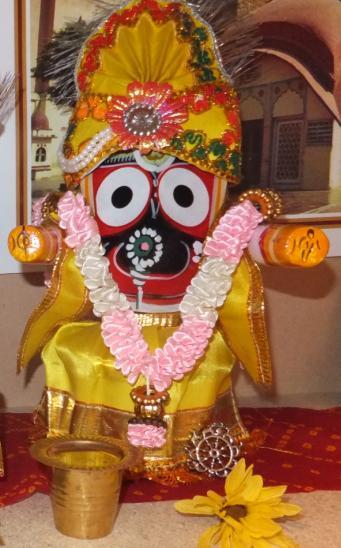 Jagannatha Deity w Clothes