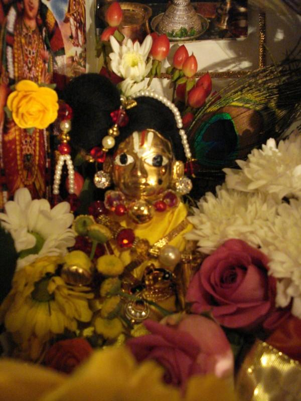 Laddu Gopal Brass Deity 5 Quot